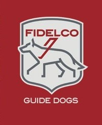 Fidelco Logo with Red Background