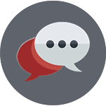Comment Bubbles Icon
