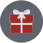 Holiday Gift Icon